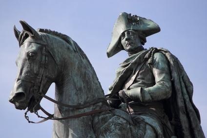 Friedrich der Grosse in Potsdam